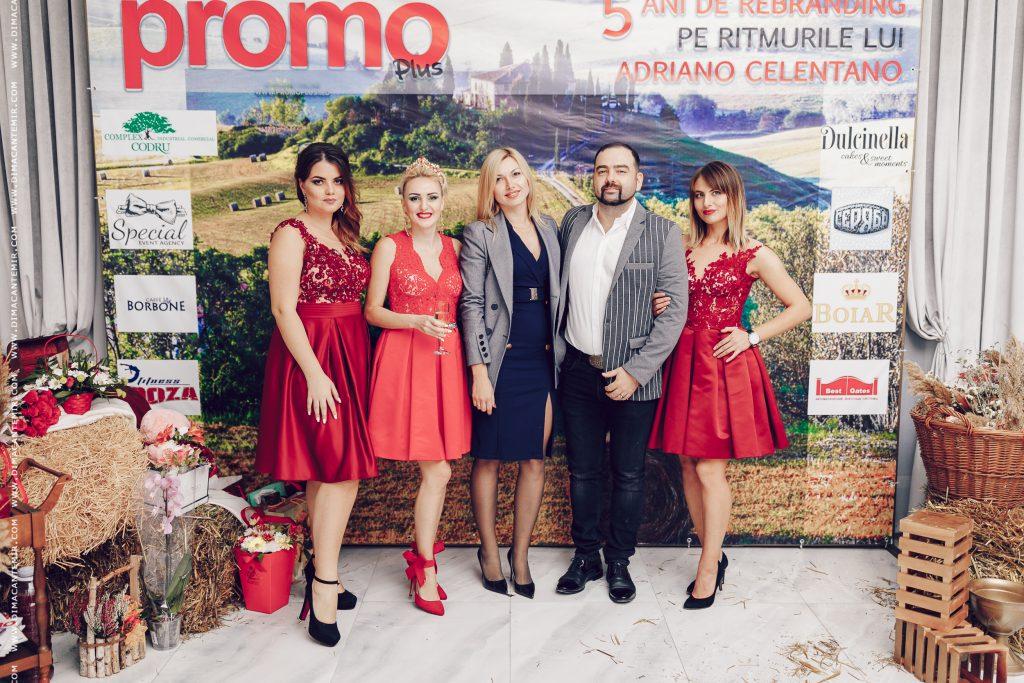 5 ani de rebranding a revistei PROMO plus, pe ritmurile lui Celentano